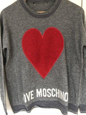 Love Moschino Cashmere Jumper grey