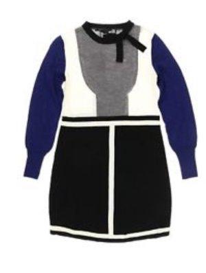 Love Moschino Vestido de lana multicolor