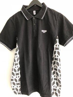 Moschino Mare Poloshirt in schwarz /weiß