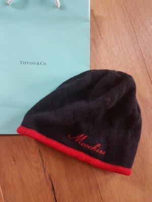 Love Moschino Cappellino nero-rosso mattone