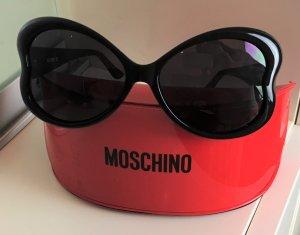 * MOSCHINO * NEU !  Oversize  Sonnenbrille Herz Schmetterling schwarz