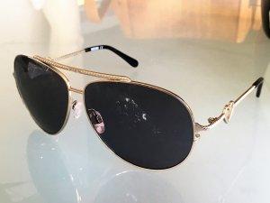Moschino Pilotenbril zilver Metaal