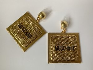 Moschino Oorclips goud