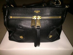 Moschino Crossbody bag black leather