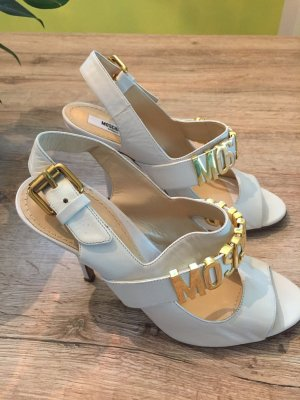 Moschino High Heel Sandal white