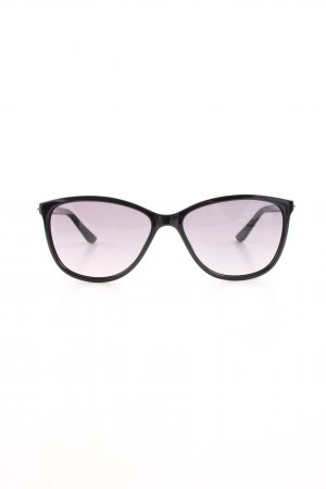 Moschino Oval Sunglasses black casual look