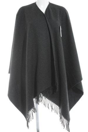Moschino Poncho grigio scuro stile casual