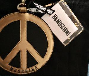 Moschino Portemonnaie Gold schwarz