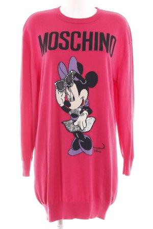 Moschino Pulloverkleid Motivdruck Casual-Look