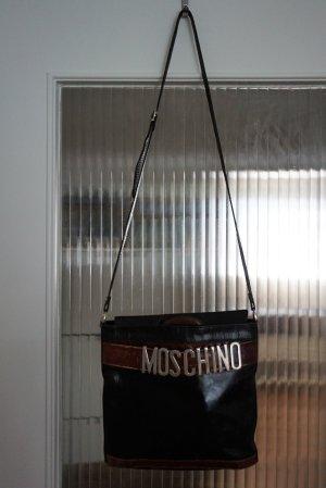 Moschino Redwall Vintage Leder Tasche Handtasche