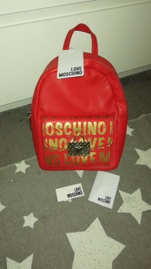 Love Moschino Backpack Trolley red