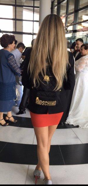 Moschino Rucksack schwarz