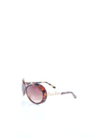 Moschino runde Sonnenbrille Farbverlauf Eleganz-Look