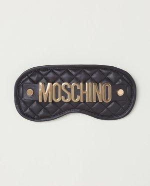 Moschino Schlafmaske aus Leder *NEU*