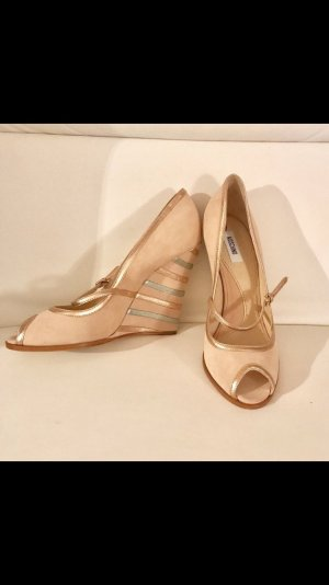 Moschino Schuhe, Gr. 40, beige, NEU, ohne Karton