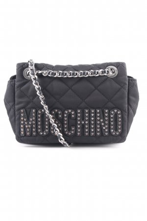 "Moschino Schultertasche ""Small Metal Chain Shoulder Bag Black"" schwarz"
