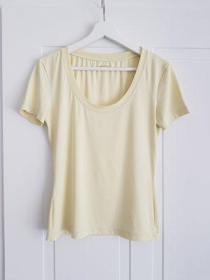 Moschino Camiseta amarillo claro poliamida