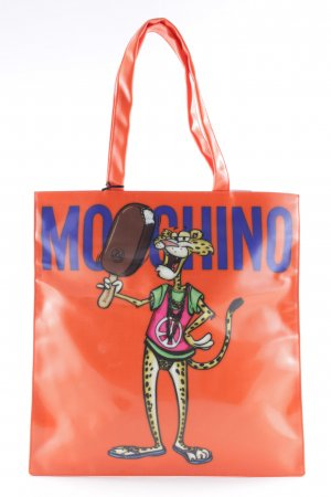 Moschino Shopper Comicmuster extravaganter Stil