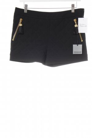 Moschino Shorts schwarz Steppmuster Party-Look