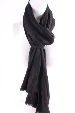 Moschino Sommerschal schwarz schlichter Stil