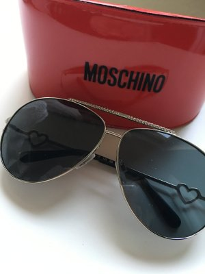 Moschino Sonnenbrille Aviator Heart MO53803 Neu!