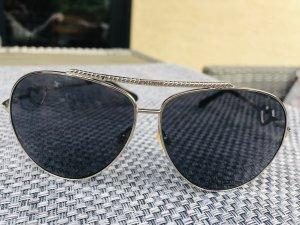 Moschino Occhiale argento-grigio scuro