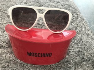 Love Moschino Lunettes blanc-doré