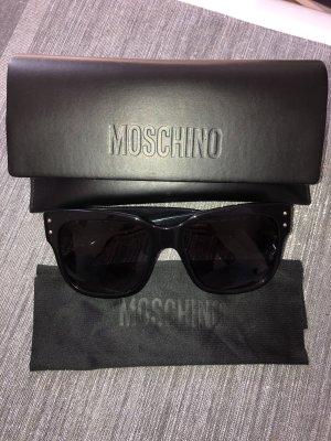 Moschino Sonnenbrille schwarz
