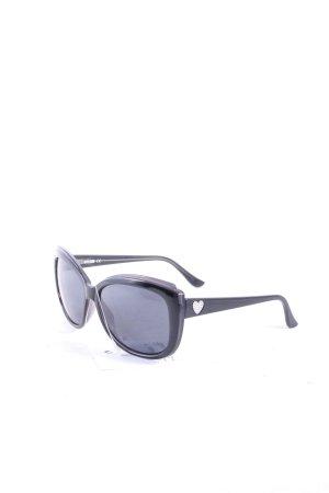 Moschino Sonnenbrille schwarz Elegant