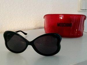 Moschino Sonnenbrille Schwarz Herzform Neu mit Etui