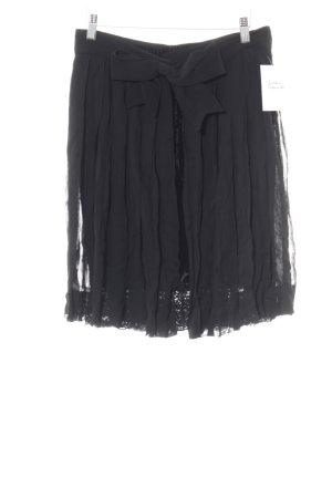 Moschino Jupe en dentelle noir style romantique