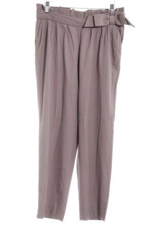 Moschino Pantalone jersey marrone-grigio stile casual