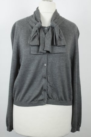Moschino Strickjacke grau