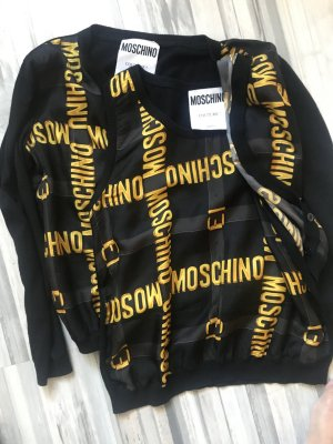 Boutique Moschino Shirt Jacket black-gold-colored
