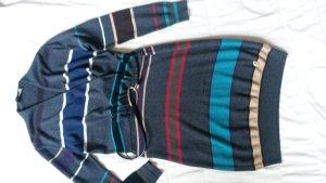 Love Moschino Abito di maglia multicolore Lana vergine
