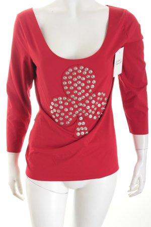 Moschino T-Shirt rot extravaganter Stil