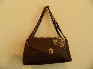 Moschino Tasche Braun Leder Luxus Pur!