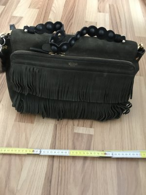 Moschino Carry Bag dark green