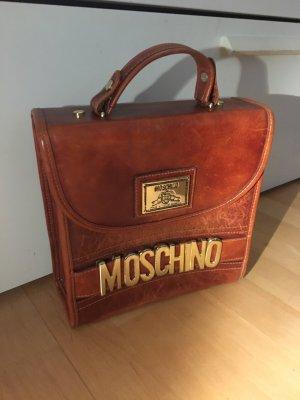 Moschino Tasche cognac Leder