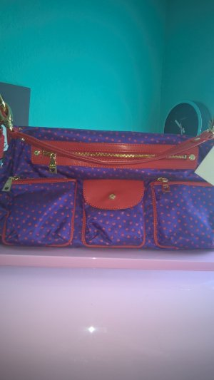 Love Moschino Briefcase dark violet synthetic material