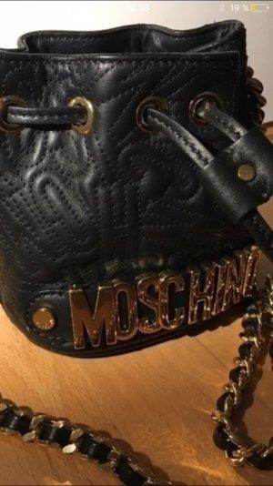 Moschino Tasche Mini bucket bag schwarz neu und unbenutzt