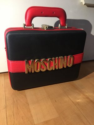 Moschino Handbag black-dark red