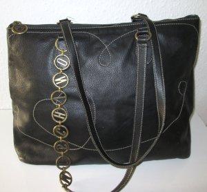Moschino Tasche schwarz Domestic Skin