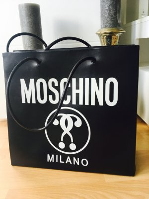 Moschino Tote Bag, Leather