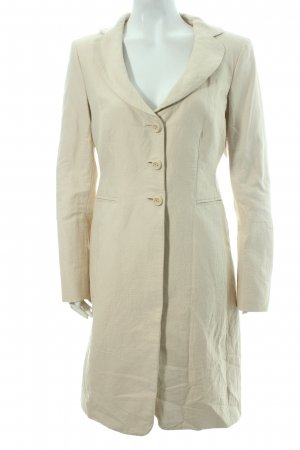 Moschino Trenchcoat creme Nude-Look