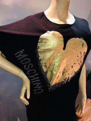 Moschino Blusa larga negro tejido mezclado