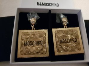 MOSCHINO [TV] H&M Ohrclips