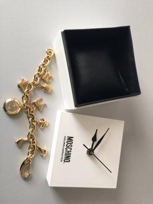 Moschino Uhr goldfarben