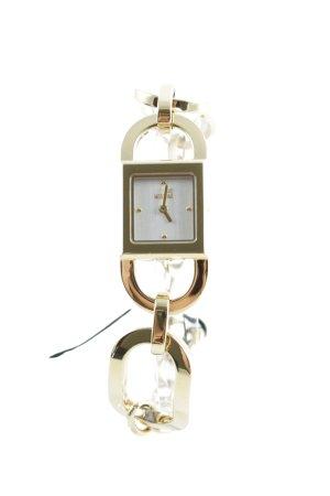 Moschino Uhr mit Metallband goldfarben Elegant
