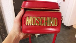 Moschino  Umhängetasche rot neuwertig
